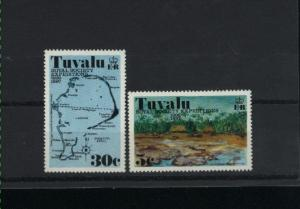 Tuvalu 2 different Mint NH  PD