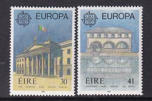Ireland   #805-806    MNH   1990   Europa  post offices