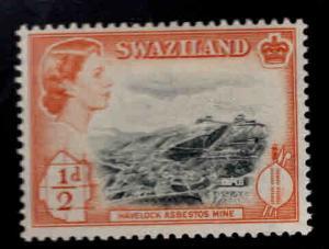 Swaziland Scott 55 MH* stamp set