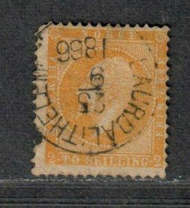 Norway Sc#2 Used/F, Cv. $150