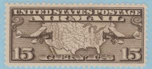C8 Map and Planes MNH Single