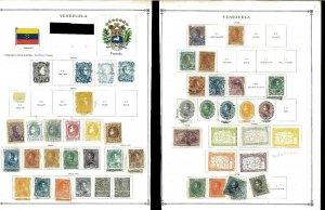 Venezuela 1879-1940 M & U on Scott International Pages