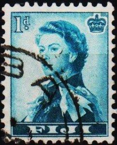 Fiji. 1954 1d S.G.281 Fine Used