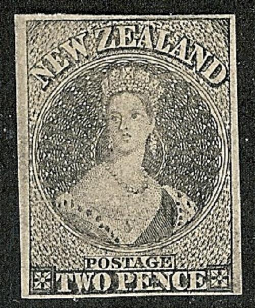 New Zealand 1906 Hausburg 2d Chalon Head Reprint