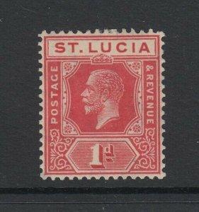 St. Lucia, Scott 77 (SG 92), MHR