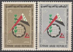Syria #C369-70 MNH VF (V3422)