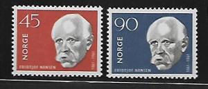 NORWAY 397-398 MINT HING FRIDTJOF NANSEN