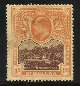St Helena 1903 Scott# 54 MH