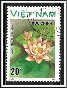 Vietnam North #1852 Water Lillies CTO