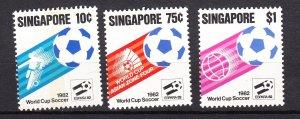 J28200 1982 singapore set #394-6 sports