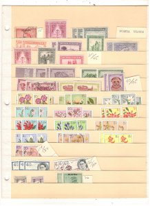 RUANDA COLLECTION ON STOCK SHEET, MINT/USED