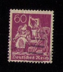 Germany Scott 168 Used F-VF Cat.$20.00