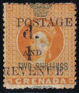 Grenada 1886-1891 SC 34 Mint
