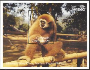 Grenada Grenadines #1570 MNH Souvenir Sheet cv $6.50