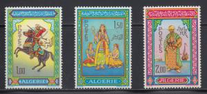 Algeria  #362-64   mnh    cat $15.00
