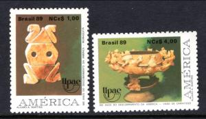 Brazil 2208-2209 MNH VF