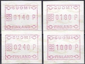 Finland 1988 Framas Set  F-VF Unused (Z2961)