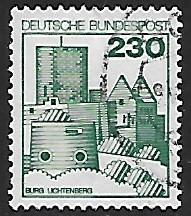 Germany # 1242 - Lichtenberg - used - {BR19}