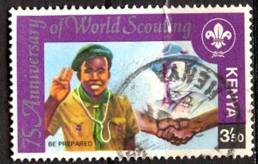 Kenya; 1982: Sc. # 219: O/Used Single Stamp