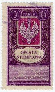 (I.B) Poland Revenue : Duty Stamp 100m