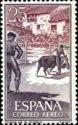 Spain 1960 Village bullring