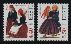 Estonia 448-9 MNH Folk Costumes