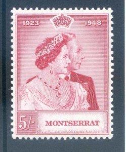 Montserrat 1948 Silver Wedding SG116 Unmounted Mint