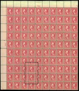 MALACK 505 F/VF OG NH/H, Double Error Block, mostly ..MORE.. b2115