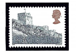 Gibraltar 850 MNH 2000 Moorish Castle  (KA)