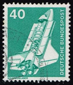 Germany #1174 Space Shuttle; Used (0.25)