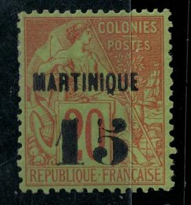 Martinique 1888 SC 7 Mint SCV $200.00