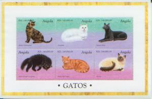 Cats of the World, S/S 6, ANGO1023