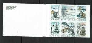 Sweden: 1989, 250th Anniversary Academy of Science, Polar Research, Booklet, MNH