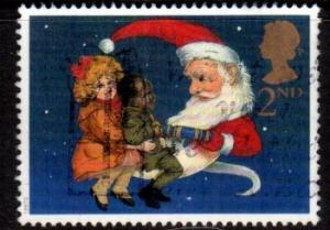 Great Britain - #1776 Santa as Man on the Moon - Used