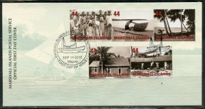 MARSHALL ISLANDS 2010 TRADITIONS SET FIRST DAY COVER