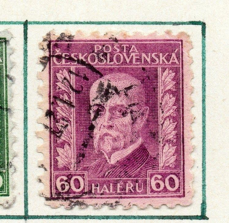 Czechoslovakia 1926 Early Issue Fine Used 60h. 230214