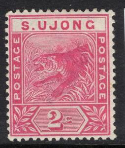 MALAYA SUNGEI UJONG SG50 1891 2c ROSE MTD MINT