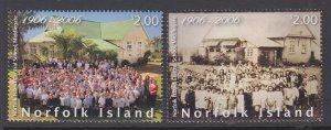 Norfolk Island 893-894 MNH VF