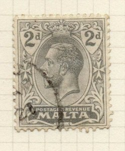 Malta 1921-22 Early Issue Fine Used 2d. 321547