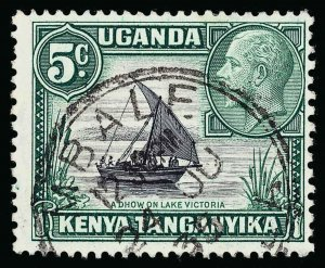 Kenya, Uganda and Tanganyika Scott 47b Gibbons 111b Used Stamp
