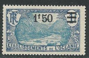 French Polynesia ||  Scott # 68 - MH