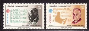 $Turkey Sc#2313-2314 M/NH, complete set, Cv. $60