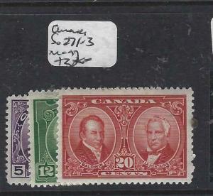 CANADA   (P3004B) SG 271-3   MOG