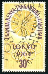 British East Africa Sc#144  Used
