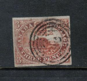 Canada #1 Very Fine Used With Four Large Margins **With Certificate**