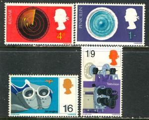 Great Britain; 1967: Sc. # 518-521: */MH Cpl. Set