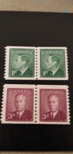 Canada 295-296 MVLH Pairs