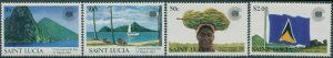 St Lucia 1981 SG633-636 Commonwealth Day MNH