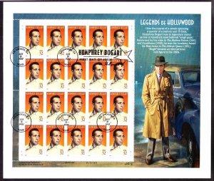 US 3152 Humphrey Bogart Legends of Hollywood w/ 1st Day Issue Cancel in Folder