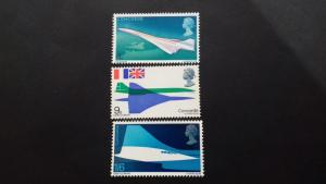 Great Britain 1969 The First Flight of the Prototype Concorde Mint